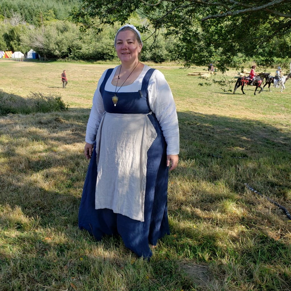 Front view of Cobalt Kirtle no. 2.